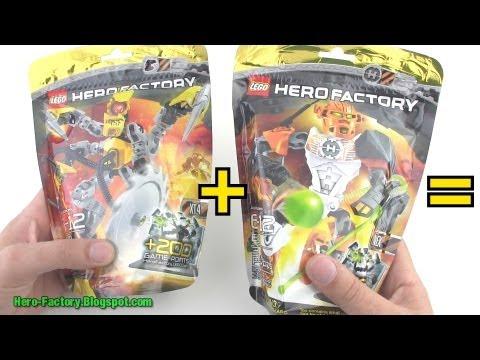 Hero Factory Nex + XT4 combiner Speed Build (Breakout wave 2)