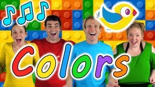 Colors Song for Kids - Learn colors with this kids song!
