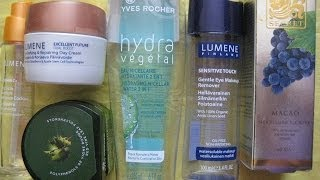 Пустые баночки Yes-rocher,Lumene,Loreal