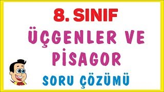 8 SINIF  GENLER VE PSAGOR SORU ZM  ENOL HOCA