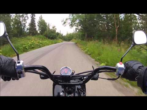 Alaska Chugach State Park Stuckagain Heights Scooter Ride GoPro 2 HD Camera
