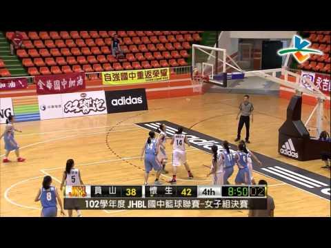 籃球-102JHBL國中籃球聯賽