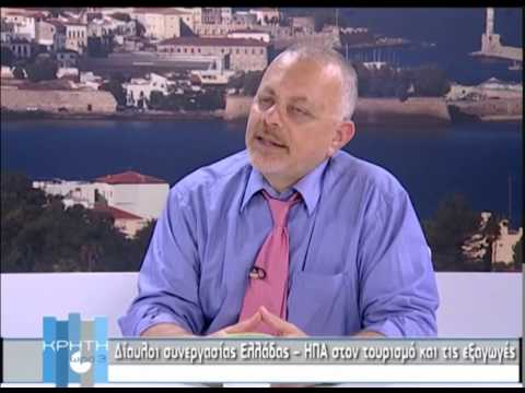 Interview by Mr. Trivizas about the future of Tourism in Greece at KYDON TV