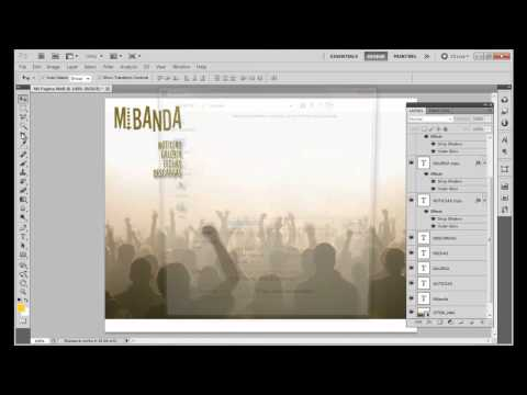 Tutorial Sitio Web Photoshop + Flash en 30 minutos (Parte 1 de 2)