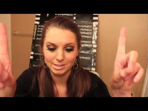 Melissa Gorga Glittery Eye Makeup