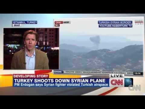 Erdogan: Turkey Shoots Down Syrian Warplane