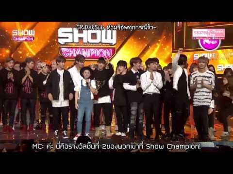 [THAISUB] 160511 MBC SHOW CHAMPION - SEVENTEEN 2ND WIN