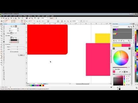 CorelDraw Session 1 - the Basics