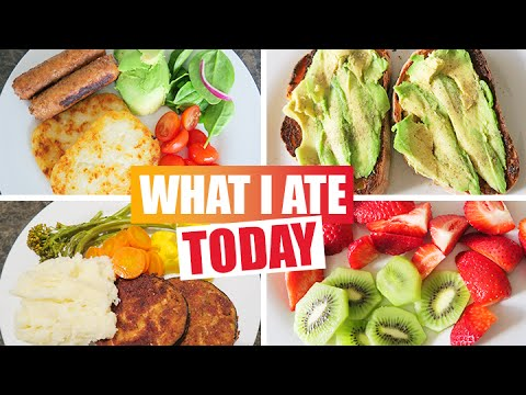 What I Ate Today - VEGAN DIET
