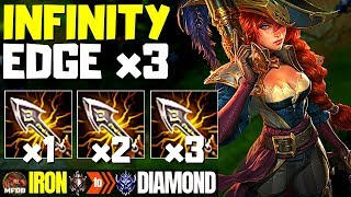 WTF?? TRIPLE IE MISS FORTUNE 100% DEALS TOO MUCH DAMAGE! - Iron to Diamond Episode #7 (Season 9)