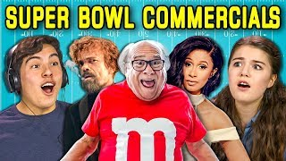Download Lagu TEENS REACT TO SUPER BOWL COMMERCIALS 2018 Gratis STAFABAND