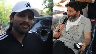Stylish star ALLU Arjun and Trvikramand#39;s most awaited Movie On Location Video | #AA19 Shoot Begins