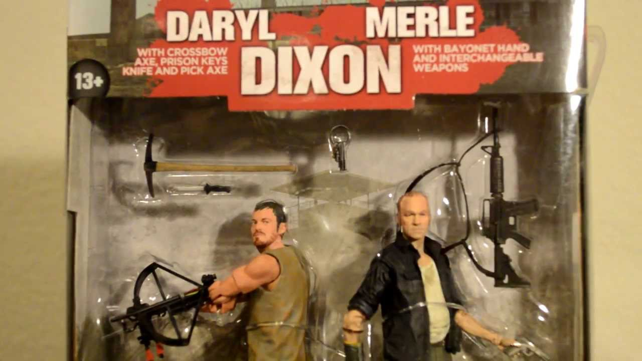 Daryl Merle Merle And Daryl Dixon Walking