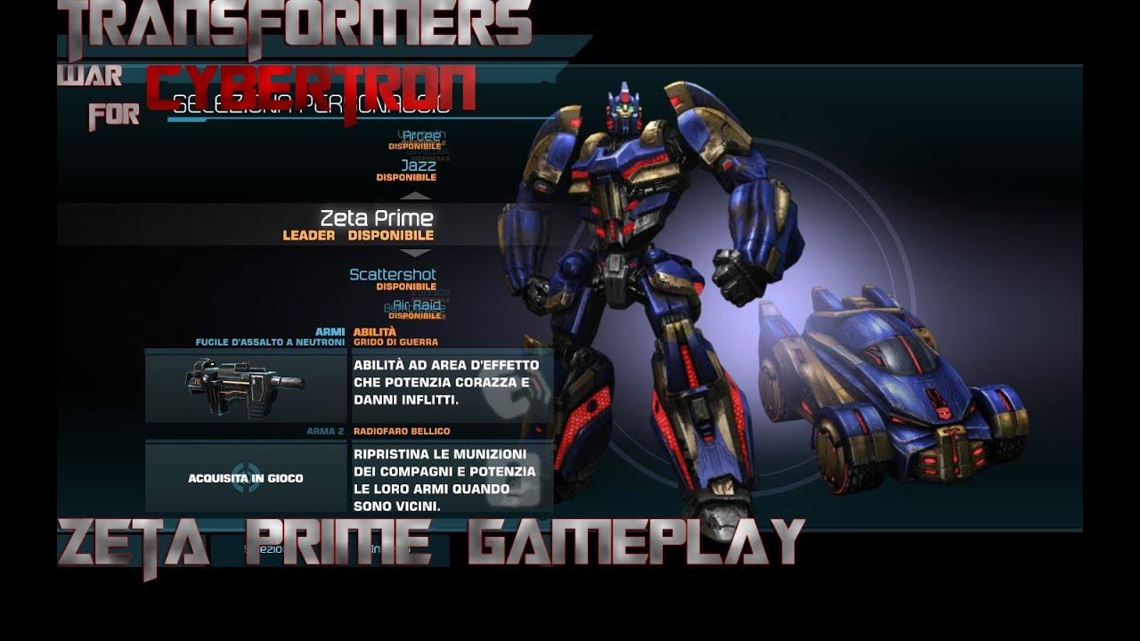 Zeta Prime g1 Deathmatch as Zeta Prime