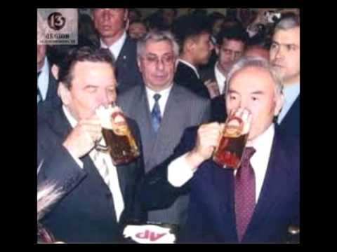 Назарбаев выпил пиво с Штайнмайером!