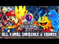 Super Smash Bros 3DS - (1080p) ALL FINAL SMASHES & TAUNTS (51 Total)