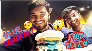 Burger Hub BLUE DRAGON & ME | FOOD REVIEW | VLOG 9 |