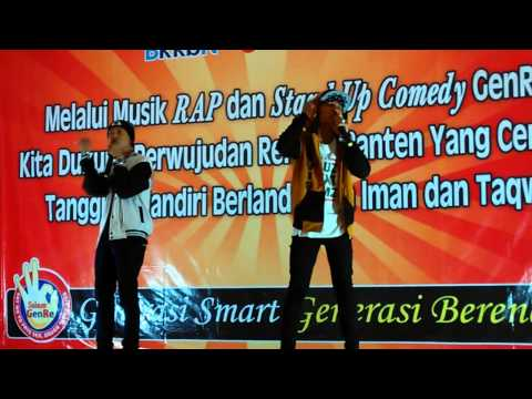 Mr.Prams&Riki Bridle -Juara1 RAP BKKBN Banten 2014