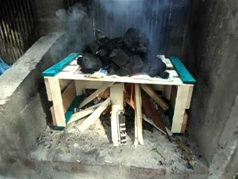 Gran Maestro Asador-como hacer fuego