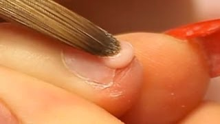 How to Apply Acrylic Nails on Short Bitten Nails Tutorial by Naio Nails
