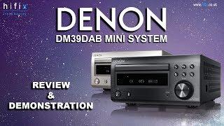 Denon DM39 DAB mini system review