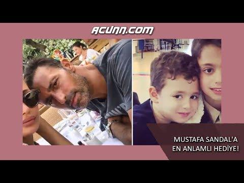 Mustafa Sandal'a en anlamlı hediye!