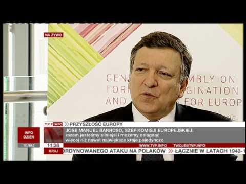 TVP INFO with José Manuel Barroso