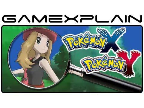Pokemon X & Pokemon Y - Trailer Analysis Part 5 (Secrets & Hidden Details)