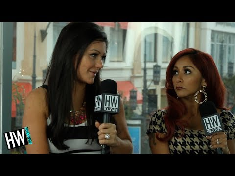 Snooki & Jwoww Talk Season 3 & Miley Cyrus Haters!