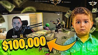 CONNOR OWES ME $100,000?! (Fortnite: Battle Royale)