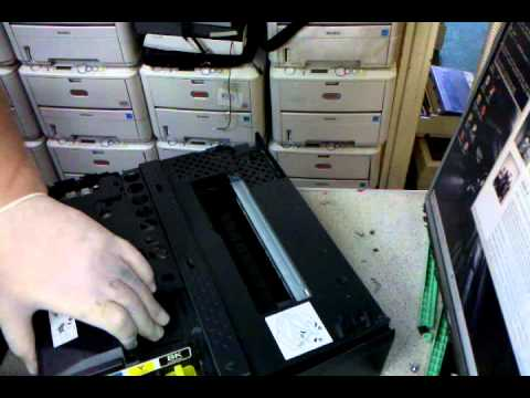 disassembling brother DCP-115C