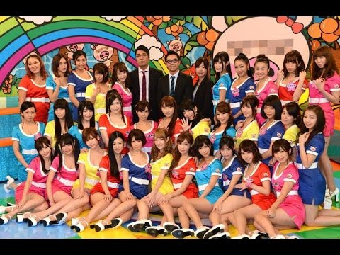 Original 33 member formation of the new Ebisu Muscats mini-introduction