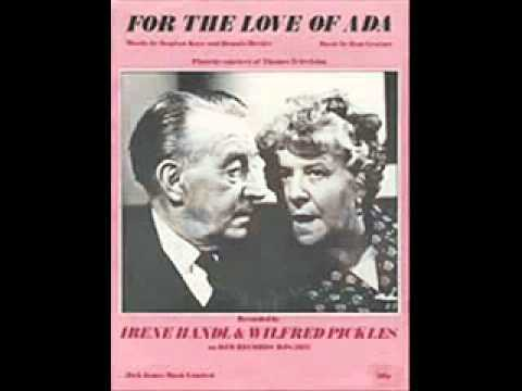 Irene Handl & Wilfred Pickles - For The Love Of Ada / Instrumental (1971)
