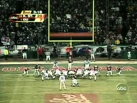 Kansas State vs Oklahoma - Big 12 Championship 2003 - Full Game