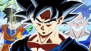 ALL LEVELS OF GOKU! Goku Vs Broly On A NEW Map!   Dragon Ball Xenoverse 2