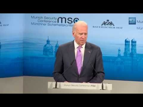 Vice President Biden at The Munich Security Conference