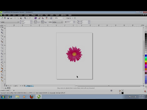 How to Make a Transparent Background in CorelDraw
