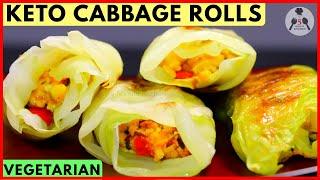 Keto Cabbage Rolls [Keto Dumplings] | Indian Keto Recipes | 5-Minute Kitchen