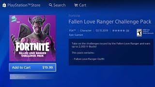 HOW TO GET THE NEW FORTNITE FALLEN LOVE RANGER PACK FOR FREE! FREE DARK LOVE RANGER PACK XBOX/PS4/PC