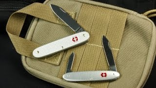 The Simple Things in Life: Victorinox Solo Alox (0.8000.26) & Excelsior Alox (0.6900.16)