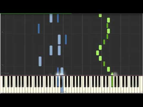 Always With Me - Piano Tutorial (Synthesia)