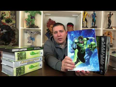 Every Green Lantern Omnibus and Absolute Released So Far thumbnail