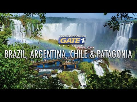 Brazil, Argentina, Chile and Patagonia - South America Vacations from Gate 1 Travel