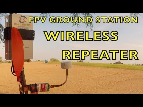 FPV GROUND STATION WIRELESS REPEATER