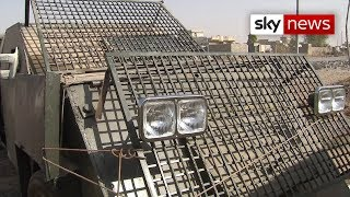 Inside a captured Islamic State suicide vehicle