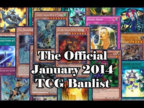 Yu-Gi-Oh! Discussion - The Official January  2014 Banlist (TCG)
