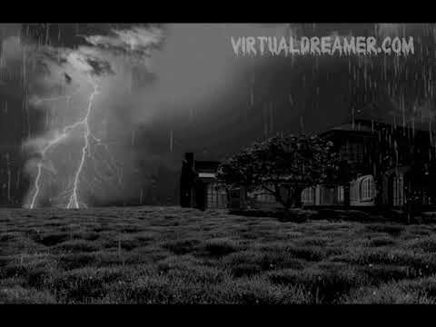 Haunting Storm Sound - 8 Hour Long Rain and Storm for Sleep