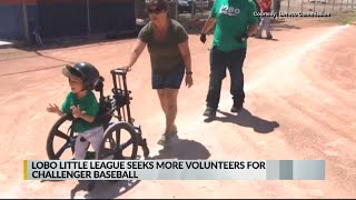 Albuquerque little league program recognized for engaging kids of all abilities