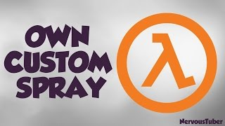 How to make your own cs 1.6 custom spray online 2016