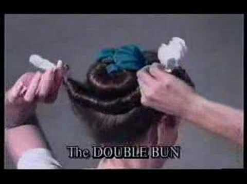 How to Double Bun Hair